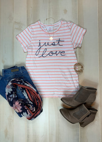 "Sundry Maritime ""Just Love"" Tee"