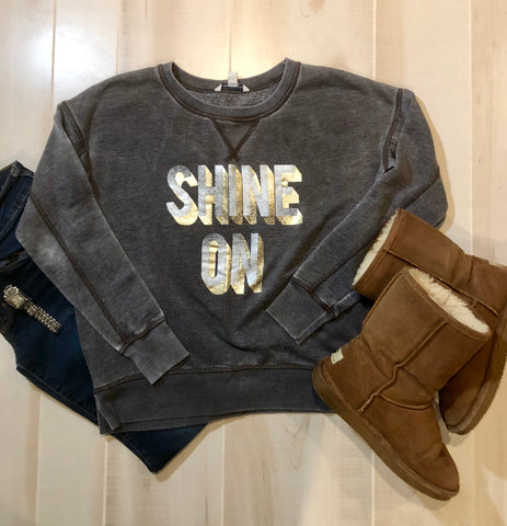 "American Eagle ""Shine On"" Sweatshirt"