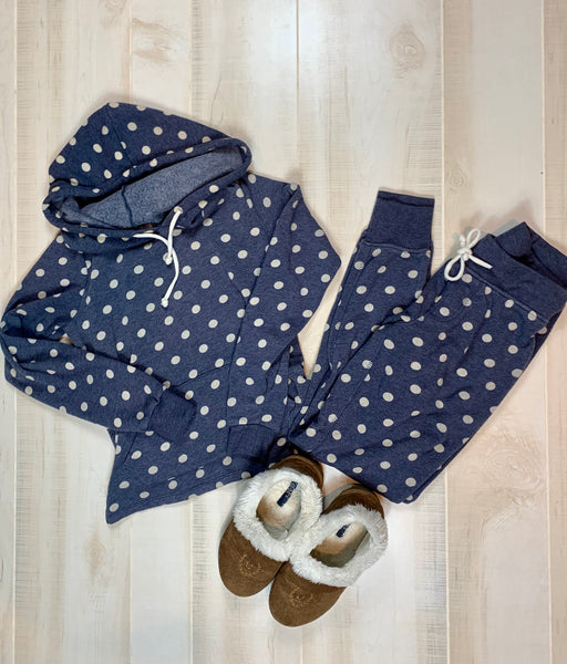 Alternative Polka Dot Sweat Set