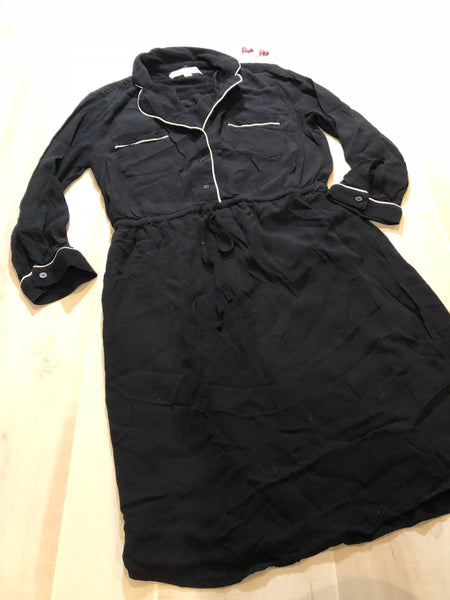 Ann Taylor Loft Button-up Collared Dress
