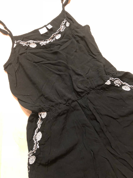 Nordstroms BP Embroidered Floral Romper