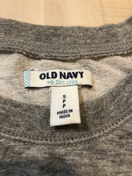 Old Navy Dress-up Sweatshirt w/ Beaded Detail
