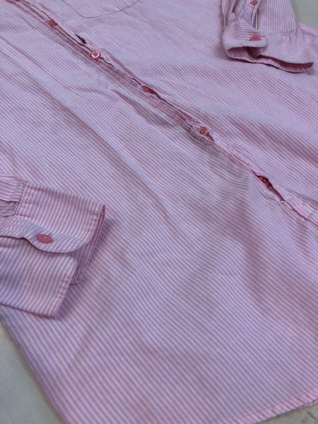 PINK By VS Stripped Button-up Nightgown