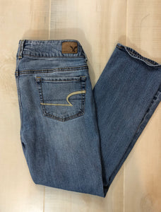 American Eagle Outfitters Artist Crop Jeans