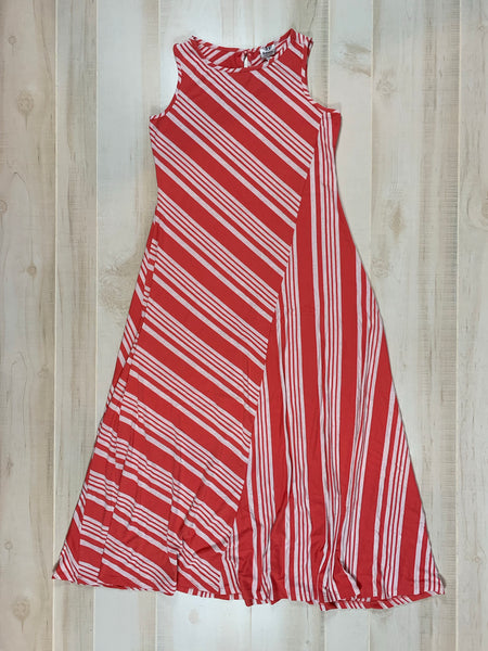 Bobeau Striped Maxi Dress