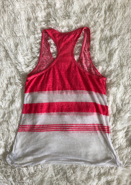 American Eagle Color Block Striped Tank