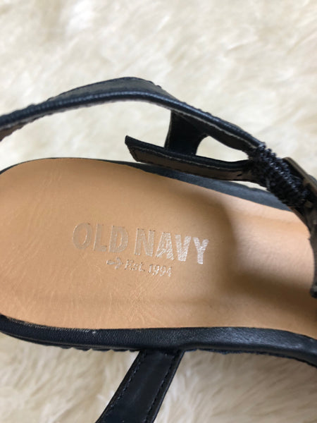 Old Navy Braided Strap Wedge: Size 7