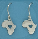 Sterling Silver Love For Africa