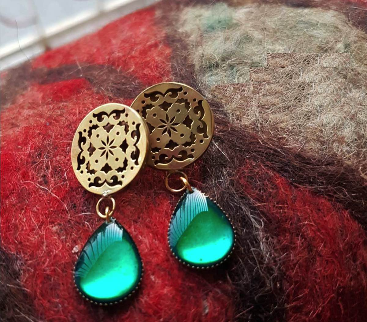 Sufi Round Earrings