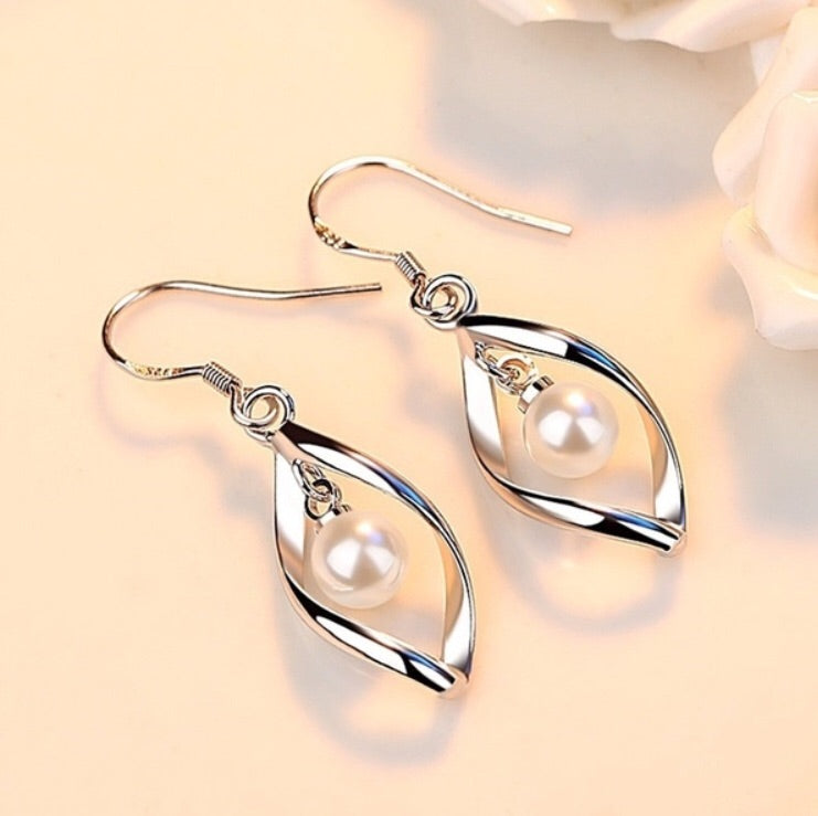 Sterling silver water Earrings