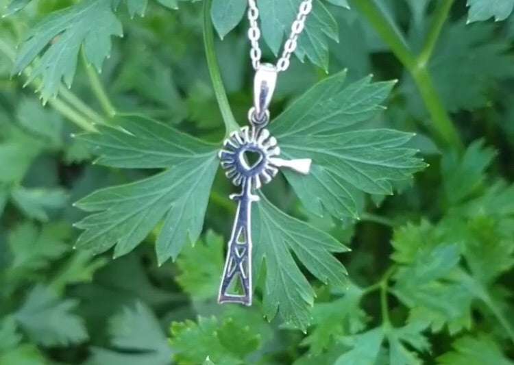 Sterling Silver Windmill