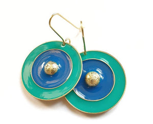 Round sunshine Earrings