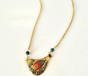 Paisley Bird Necklace - JewlOn
