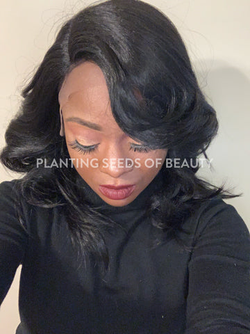 DEADRIA Synthetic Lacefront Wig