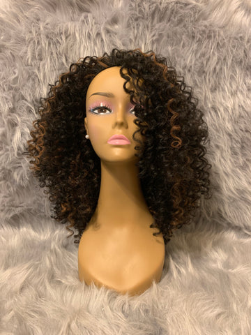 SHUNA Curly Full Wig