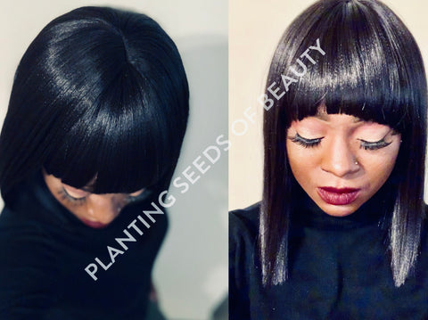QUEEN Synthetic Lace Front wig