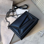Crossbody - Messenger Bag | Chain Strap