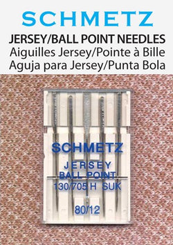 Schmetz Jersey/Ball Point Needles