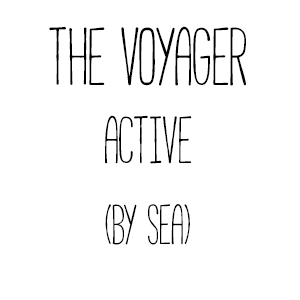 The Voyager: Active (by sea)