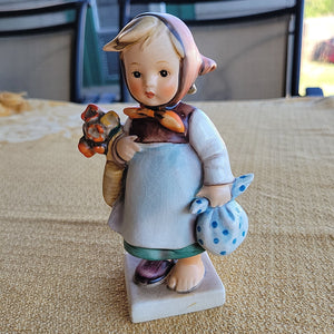 "1964-1972 Hummel Figurine ""Weary Wonderer"""
