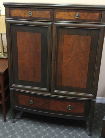 Antique Inlay Dresser/Wardrobe