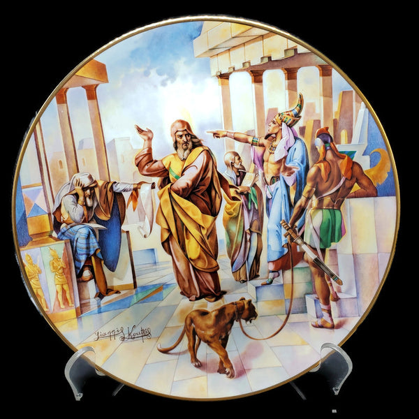 "The Promised Land Collector Plate ""Let My People Go!"""