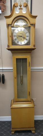 1975 Daneker Grandfather Clock with Westminster Chime