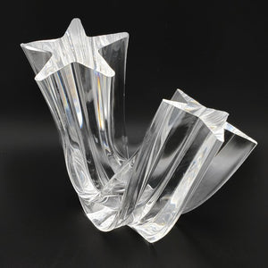 "Steuben ""Star Stream"" Crystal Sculpture"