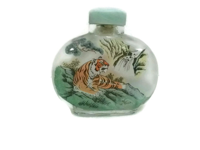 Chinese Perfume Bottle Tiger