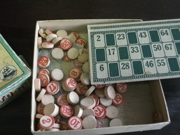 1920's Popular Lotto Game by Parker Brothers