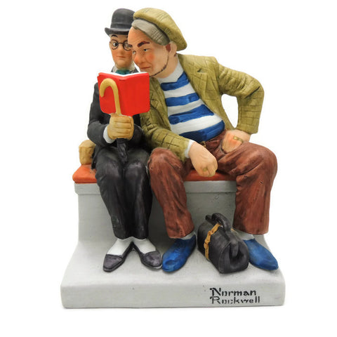 1980 The Interloper Norman Rockwell Figurine