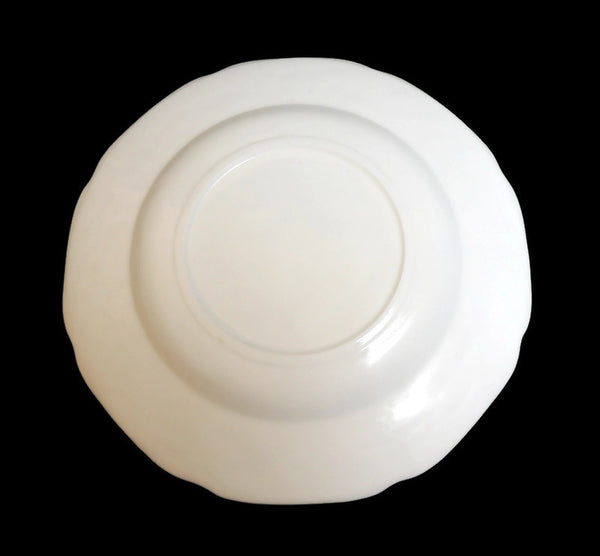 Milk Glass Dinner Plate Harvest Pattern by Colony