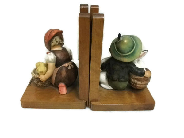 Hummel Bookends