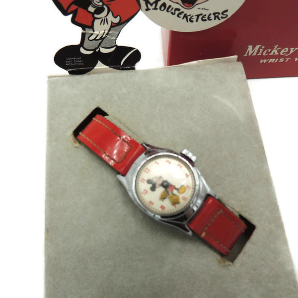 "1950's Timex Mickey Mouse ""Mouseketeer"" Watch"