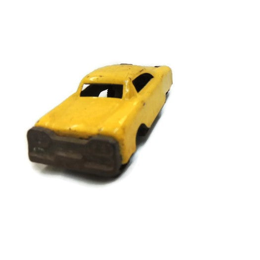 1950's Yellow Friction Car by Mar Line Toys
