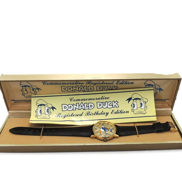 1984 Donald Duck Commemorative Birthday Watch