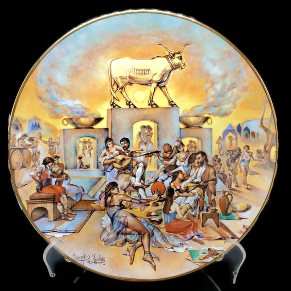 "The Promised Land Collector Plate ""The Golden Calf"""