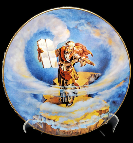 "The Promised Land Collector Plate ""The Ten Commandments"""