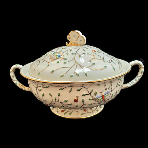 2006 Summer Enchantment Covered Serving Bowl by Lenox