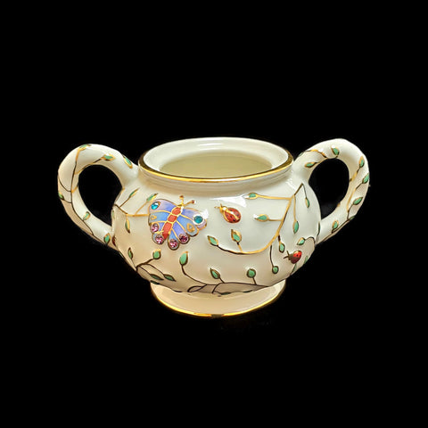 2006 Summer Enchantment Sugar Bowl (No Lid) by Lenox