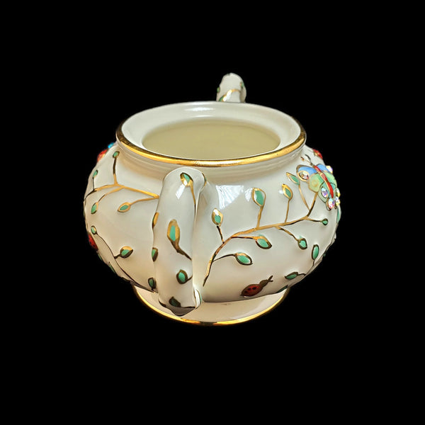 2006 Summer Enchantment Sugar Bowl by Lenox