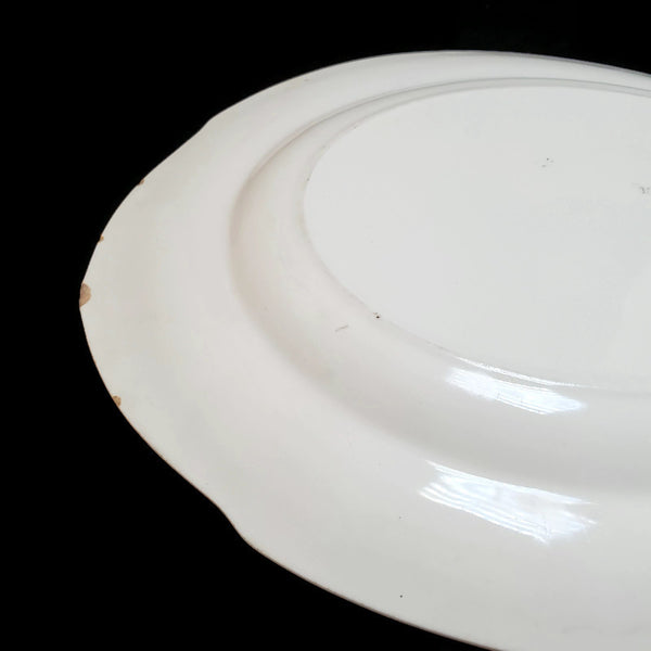 Early 1900's Oval Serving Platter Pattern The Newport by W. H. Grindley & Co. Made in England