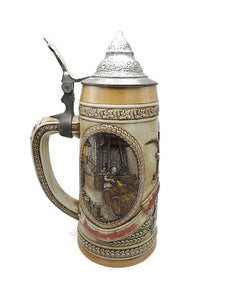 "1980's Anheuser Busch ""A"" Series Beer Stein Limited Edition #31007"
