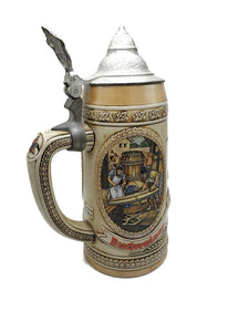 "1980's Anheuser Busch ""C"" Series Beer Stein Limited Edition #21589"