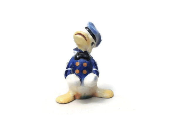 Donald Duck Ceramic Figurine