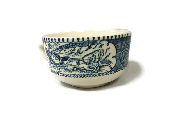 Currier & Ives Tea Cup