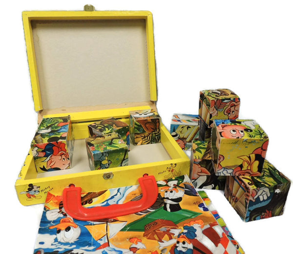 Mickey Mouse Picture Cubes