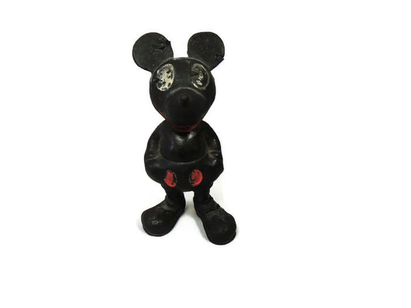 1930's Mickey Mouse Seiberling Latex Rubber Figurine