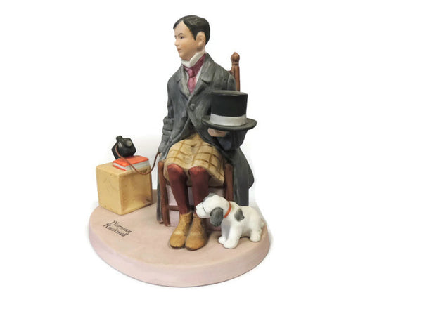 1980 Norman Rockwell Figurine - Self-Portrait