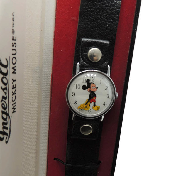 "1968-1971 NEW OLD STOCK Walt Disney's ""MOD"" Mickey Mouse Wrist Watch"